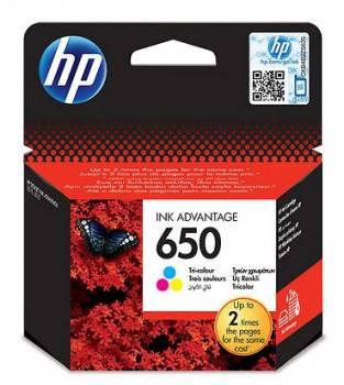 Картридж струйный HP 650 CZ102AE многоцветный