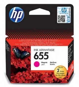 Картридж струйный HP 655 CZ111AE пурпурный