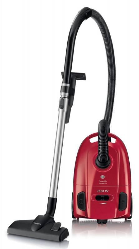 Пылесос Philips PowerLife FC8455/01 красный - фото 2