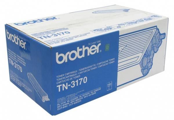 Тонер Картридж Brother TN3170 черный - фото 1