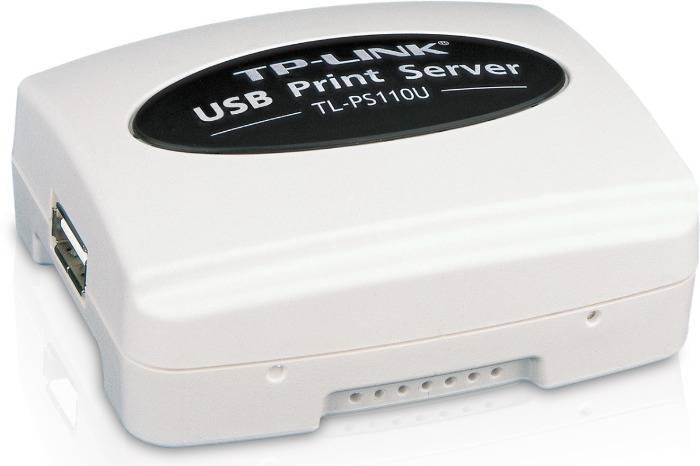 Принт-сервер TP-Link TL-PS110U - фото 1
