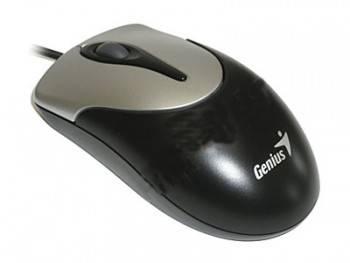Мышь Genius NetScroll 100 серебристый