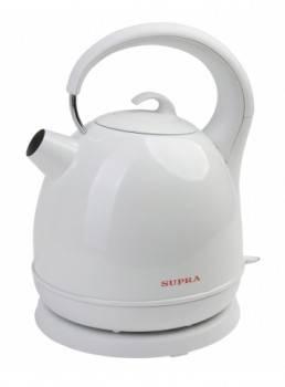 Чайник электрический Supra KES-1724 белый / серый