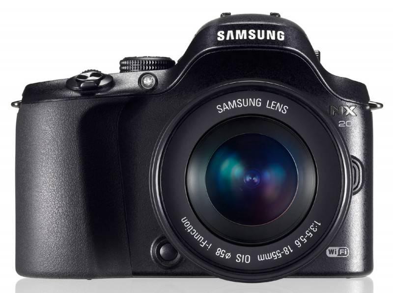 Фотоаппарат Samsung NX20 kit черный - фото 1