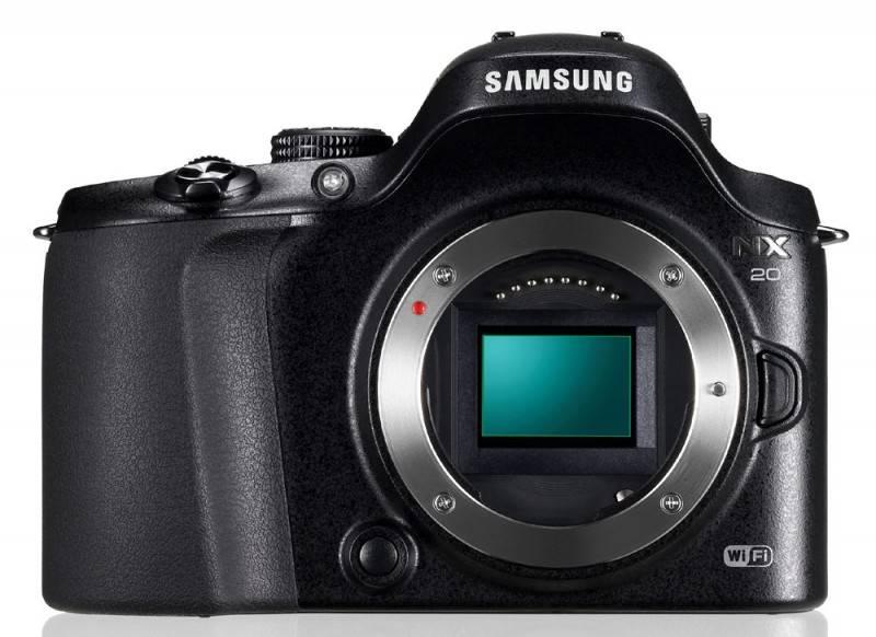 Фотоаппарат Samsung NX20 kit черный - фото 2