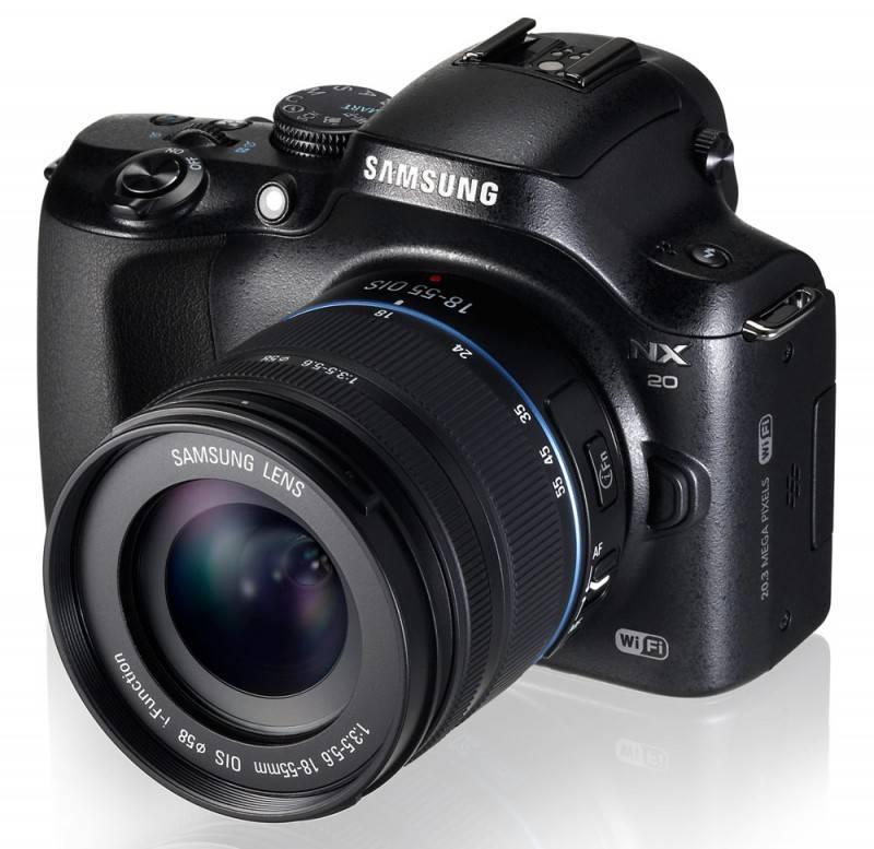 Фотоаппарат Samsung NX20 kit черный - фото 5