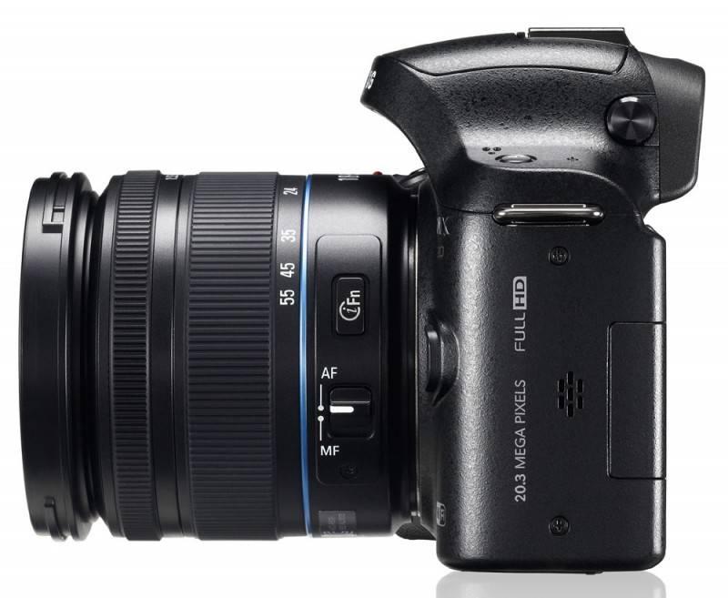 Фотоаппарат Samsung NX20 kit черный - фото 6