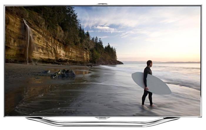 "Телевизор LED 46"" Samsung UE46ES8007U серебристый - фото 1"