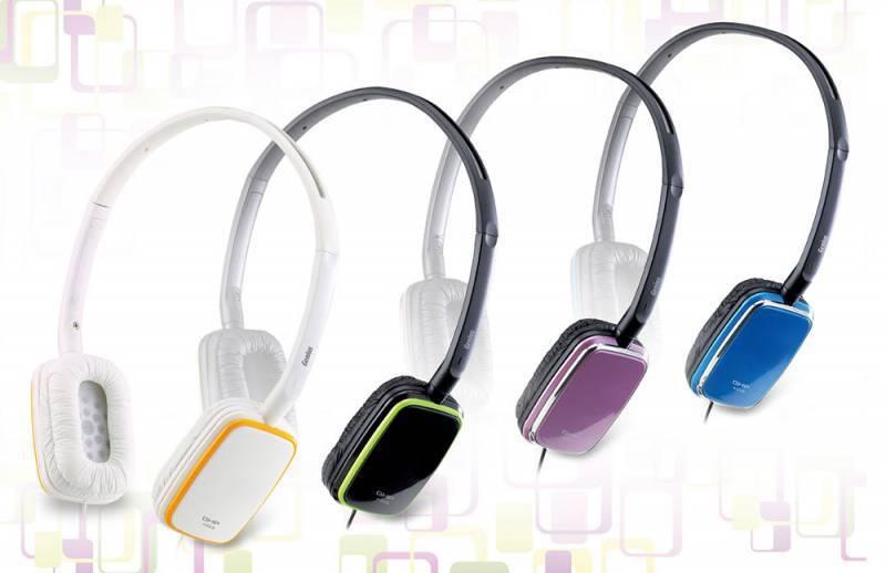 Наушники Genius GHP-420S фиолетовый - фото 2