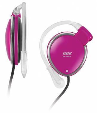 Наушники BBK EP-1800S розовый