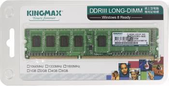 Модуль памяти DIMM DDR3 2Gb Kingmax (KM-LD3-1600-2GS)