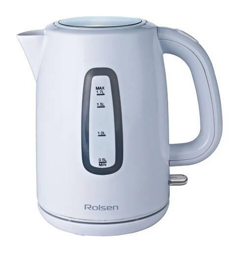 Чайник электрический Rolsen RK-2716P белый - фото 1
