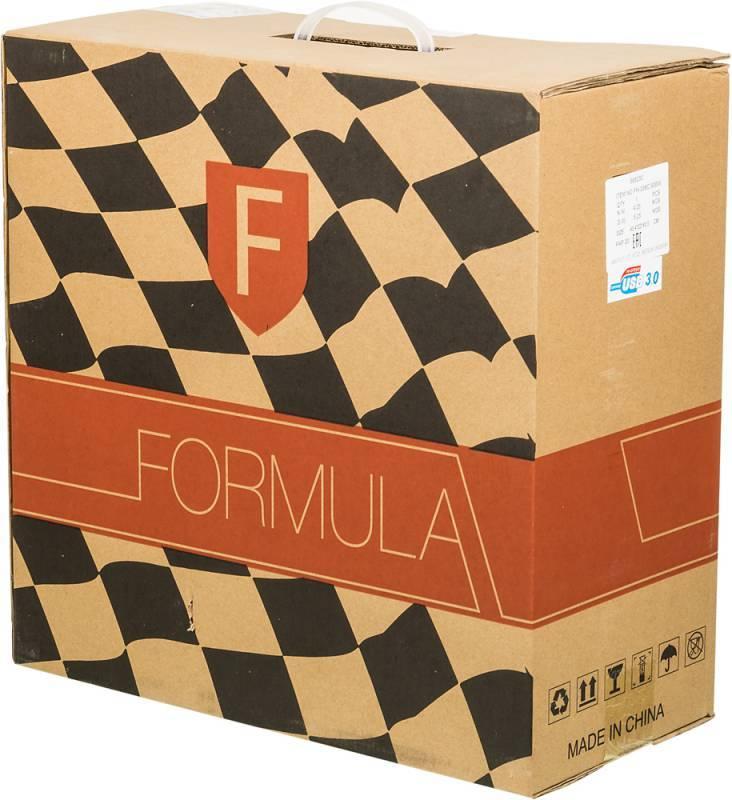Корпус ATX 500W Formula FN-338C черный - фото 10