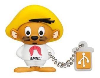 Флеш диск 8Gb Emtec L102 Speedy Gonzales USB2.0 коричневый/белый - фото 1