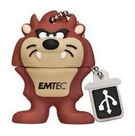 Флеш диск 8Gb Emtec L103 Taz USB2.0 коричневый - фото 1