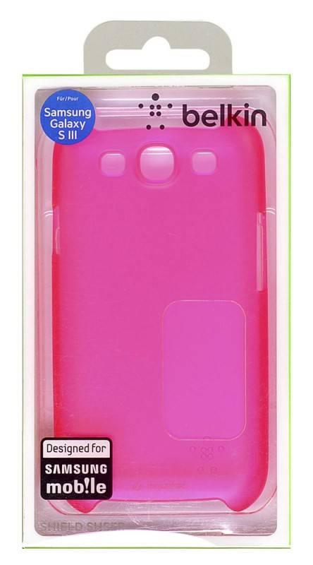 Чехол (клип-кейс) Belkin F8M403cwC03 розовый - фото 1