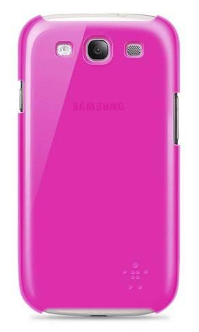 Чехол (клип-кейс) Belkin F8M403cwC03 розовый - фото 2