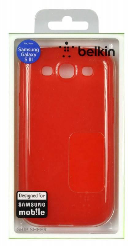 Чехол (клип-кейс) Belkin F8M398cwC01 красный - фото 1