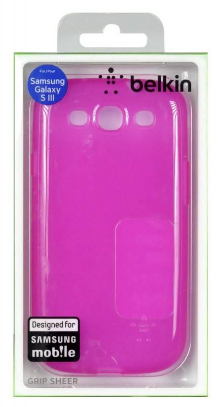 Чехол (клип-кейс) Belkin F8M398cwC02 розовый - фото 1
