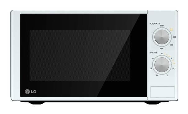 СВЧ-печь LG MS2022D белый - фото 1