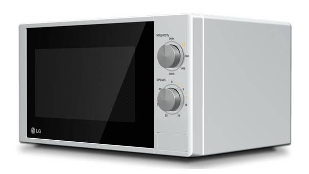 СВЧ-печь LG MS2022D белый - фото 2