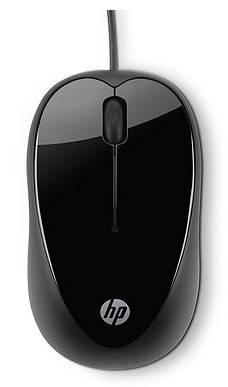 Мышь HP X1000 черный - фото 1