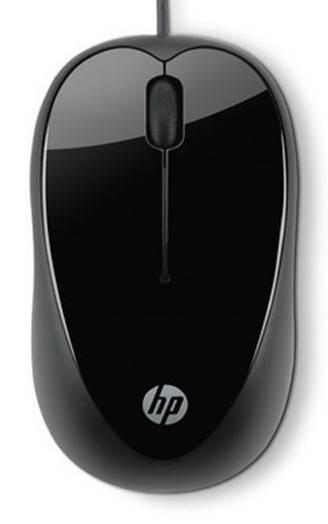 Мышь HP X1000 черный - фото 2