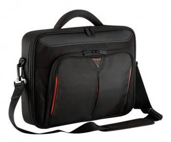 """Сумка для ноутбука 14.1"""" Targus CN414EU черный/красный (CN414EU-50)"""