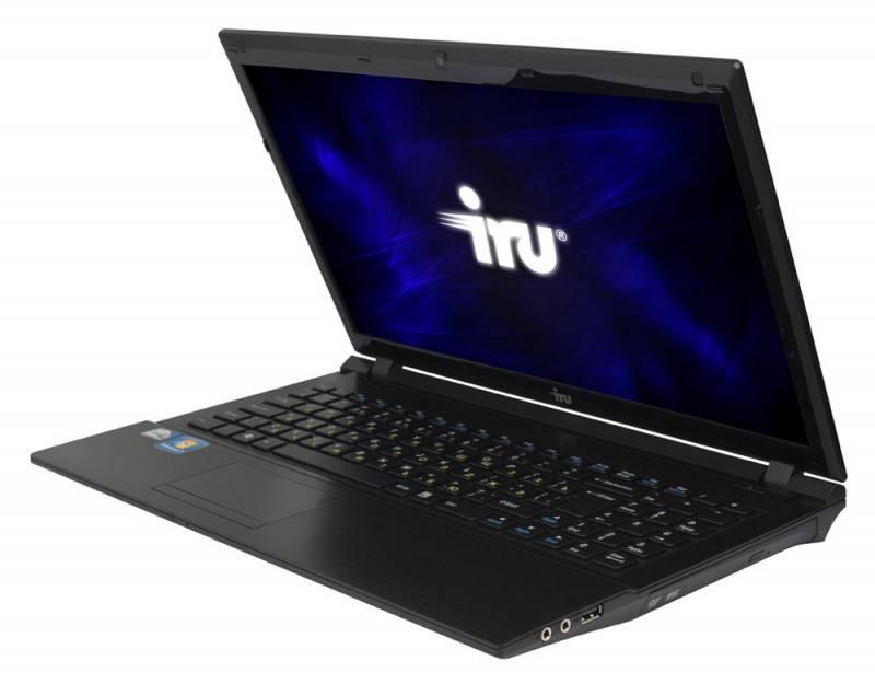 """Ноутбук 15.6"""" IRU Patriot 523 черный - фото 2"""