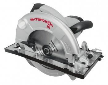 Циркулярная пила (дисковая) Интерскол ДП-210 / 1900М
