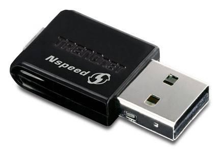 Сетевой адаптер WiFi TrendNet TEW-649UB - фото 1