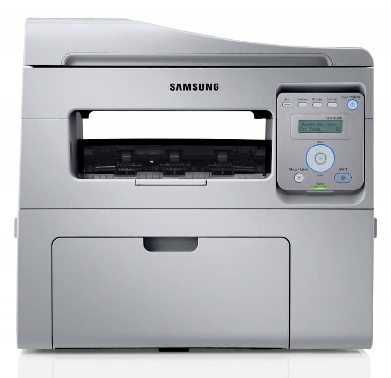 МФУ Samsung SCX-4650N/FEV белый/черный - фото 1
