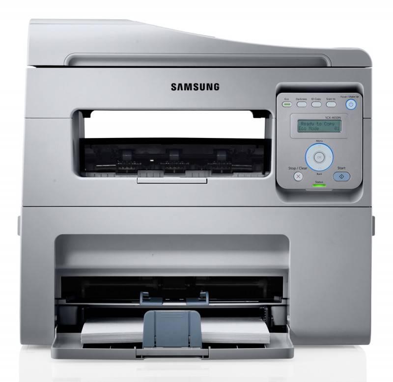 МФУ Samsung SCX-4650N/FEV белый/черный - фото 3