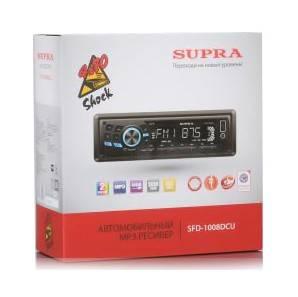 Автомагнитола Supra SFD-1008DCU - фото 2