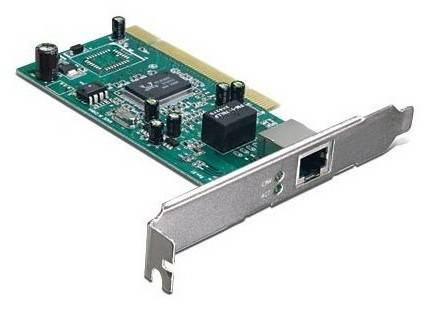 Сетевой адаптер Gigabit Ethernet TrendNet TEG-PCITXR RJ-45 - фото 1
