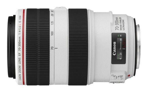 Объектив Canon EF IS USM 70-300mm f/4-5.6L (4426B005) - фото 1