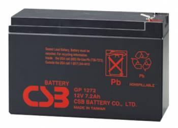 Батарея для ИБП CSB GP1272F2 28W, 12В, 7.2Ач