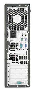 Системный блок HP Elite 8300 SFF черный - фото 5