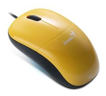 Мышь Genius DX-220 желтый - фото 1