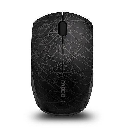 Мышь Rapoo 3300p черный - фото 1