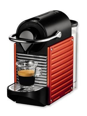 Кофемашина Krups Nespresso Pixie XN300610 красный - фото 1