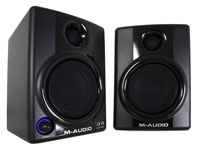 Колонки M-Audio Studiophile AV30 черный 2.0 - фото 1
