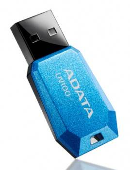 Флеш диск 8Gb A-Data DashDrive UV100 USB2.0 голубой