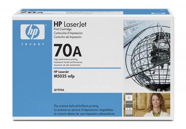 Тонер Картридж HP 70A Q7570A черный - фото 1