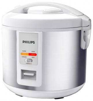 Мультиварка Philips HD3025 / 03 белый / серебристый