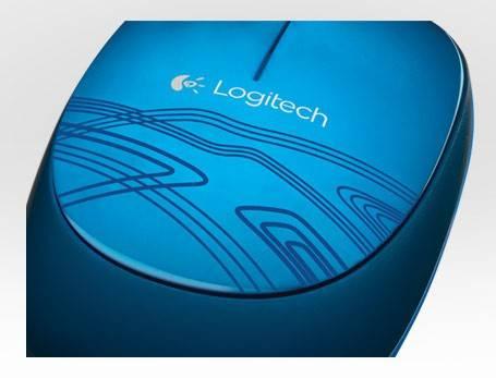 Мышь Logitech M105 синий - фото 1