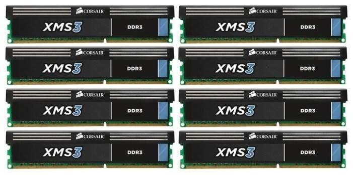Модуль памяти DIMM DDR3 8x8Gb Corsair CMX64GX3M8A1333C9 - фото 1