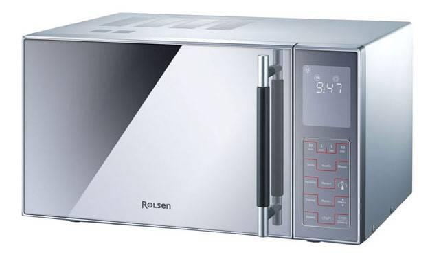 СВЧ-печь Rolsen MG2380SD серебристый - фото 2