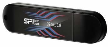 Флеш диск 32Gb Silicon Power Blaze B10 USB3.0 черный / синий