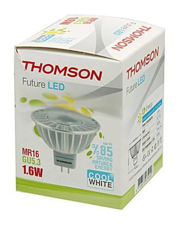 Лампа светодиодная Thomson RTMR-1616GU5.3-CW 1.6Вт - фото 1